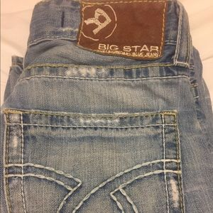 Men's Big Star Pioneer Bootcut Jeans Size 32 R